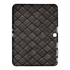 Seamless Leather Texture Pattern Samsung Galaxy Tab 4 (10.1 ) Hardshell Case