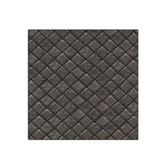 Seamless Leather Texture Pattern Satin Bandana Scarf