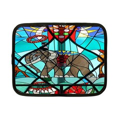 Elephant Stained Glass Netbook Case (Small)