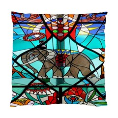 Elephant Stained Glass Standard Cushion Case (Two Sides)