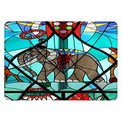 Elephant Stained Glass Samsung Galaxy Tab 8.9  P7300 Flip Case