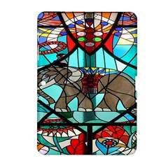 Elephant Stained Glass Samsung Galaxy Tab 2 (10.1 ) P5100 Hardshell Case