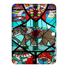 Elephant Stained Glass Samsung Galaxy Tab 4 (10.1 ) Hardshell Case