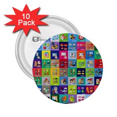 Exquisite Icons Collection Vector 2.25  Buttons (10 pack)