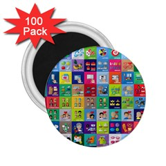 Exquisite Icons Collection Vector 2.25  Magnets (100 pack)