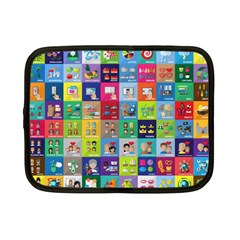 Exquisite Icons Collection Vector Netbook Case (Small)
