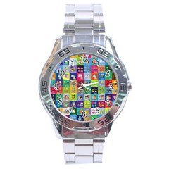 Exquisite Icons Collection Vector Stainless Steel Analogue Watch