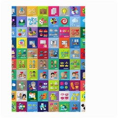 Exquisite Icons Collection Vector Small Garden Flag (Two Sides)
