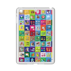 Exquisite Icons Collection Vector iPad Mini 2 Enamel Coated Cases