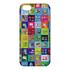 Exquisite Icons Collection Vector Apple iPhone 5C Hardshell Case