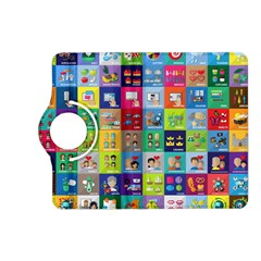 Exquisite Icons Collection Vector Kindle Fire HD (2013) Flip 360 Case