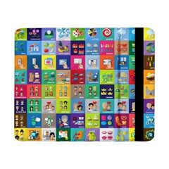 Exquisite Icons Collection Vector Samsung Galaxy Tab Pro 8.4  Flip Case