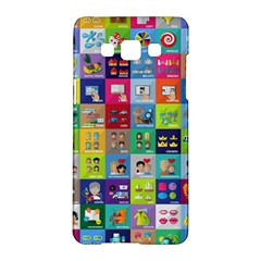 Exquisite Icons Collection Vector Samsung Galaxy A5 Hardshell Case