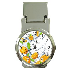 Fruits Water Vegetables Food Money Clip Watches