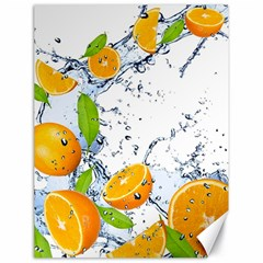 Fruits Water Vegetables Food Canvas 18  x 24