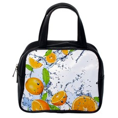 Fruits Water Vegetables Food Classic Handbags (One Side)