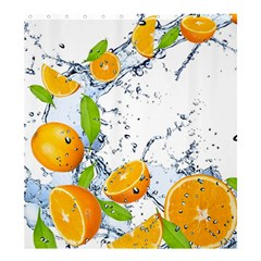 Fruits Water Vegetables Food Shower Curtain 66  x 72  (Large)