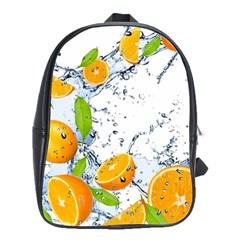 Fruits Water Vegetables Food School Bags(Large)