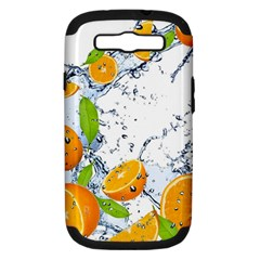 Fruits Water Vegetables Food Samsung Galaxy S III Hardshell Case (PC+Silicone)