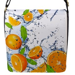 Fruits Water Vegetables Food Flap Messenger Bag (S)