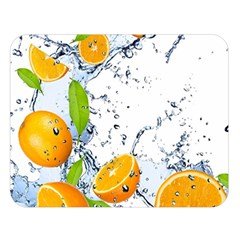 Fruits Water Vegetables Food Double Sided Flano Blanket (Large)
