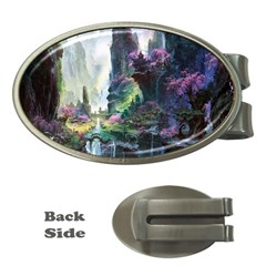 Fantastic World Fantasy Painting Money Clips (Oval)