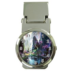 Fantastic World Fantasy Painting Money Clip Watches