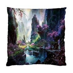 Fantastic World Fantasy Painting Standard Cushion Case (Two Sides)