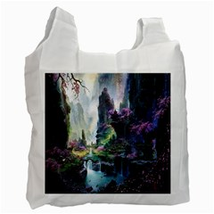 Fantastic World Fantasy Painting Recycle Bag (One Side)