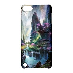 Fantastic World Fantasy Painting Apple iPod Touch 5 Hardshell Case with Stand