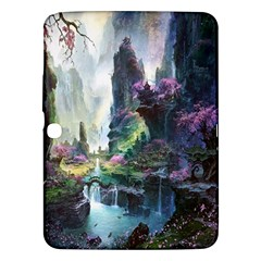 Fantastic World Fantasy Painting Samsung Galaxy Tab 3 (10.1 ) P5200 Hardshell Case