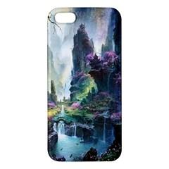 Fantastic World Fantasy Painting iPhone 5S/ SE Premium Hardshell Case