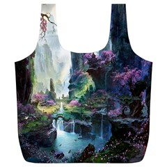 Fantastic World Fantasy Painting Full Print Recycle Bags (L)