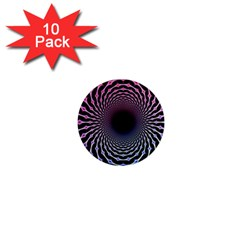 Spider Web 1  Mini Magnet (10 pack)