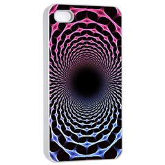 Spider Web Apple iPhone 4/4s Seamless Case (White)