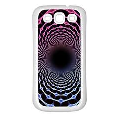 Spider Web Samsung Galaxy S3 Back Case (White)