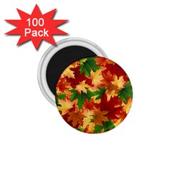 Autumn Leaves 1.75  Magnets (100 pack)