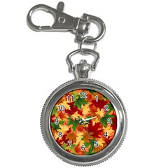 Autumn Leaves Key Chain Watches
