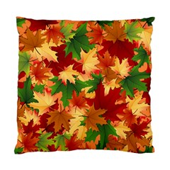 Autumn Leaves Standard Cushion Case (One Side)
