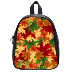 Autumn Leaves School Bags (Small)
