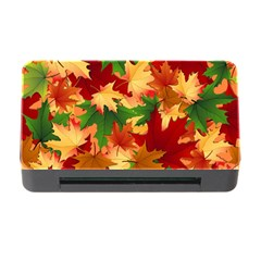Autumn Leaves Memory Card Reader with CF
