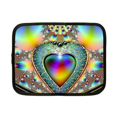 Rainbow Fractal Netbook Case (Small)