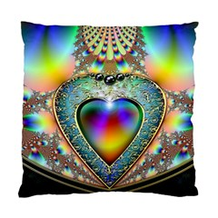 Rainbow Fractal Standard Cushion Case (One Side)