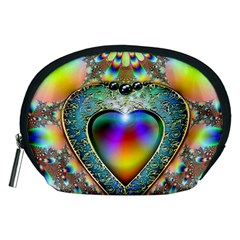 Rainbow Fractal Accessory Pouches (Medium)