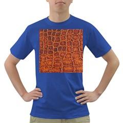 Crocodile Skin Texture Dark T-Shirt