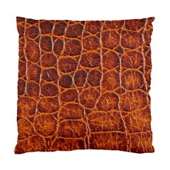Crocodile Skin Texture Standard Cushion Case (Two Sides)