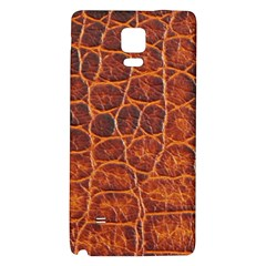 Crocodile Skin Texture Galaxy Note 4 Back Case