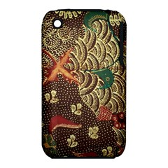 Art Traditional Flower Batik Pattern iPhone 3S/3GS