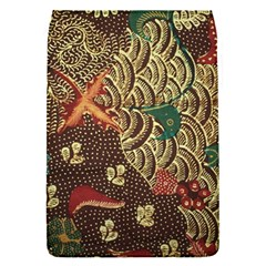 Art Traditional Flower Batik Pattern Flap Covers (S)