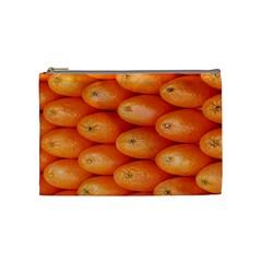 Orange Fruit Cosmetic Bag (Medium)